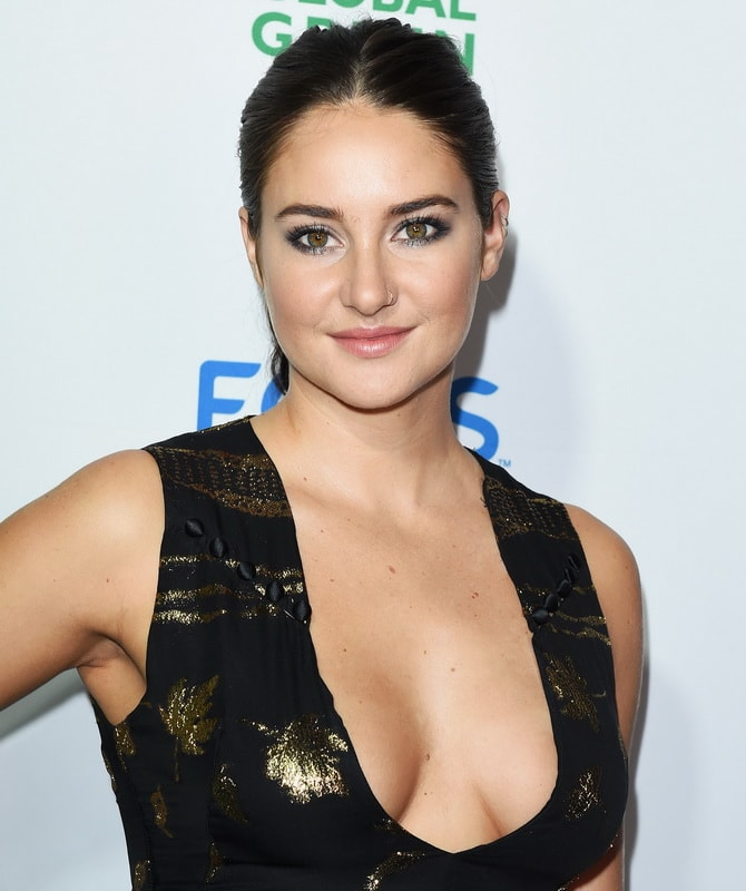 shailene-woodley-deep-cleavage-at-global-green-20th-anniversary-awards-01