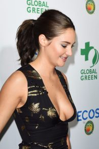 shailene-woodley-deep-cleavage-at-global-green-20th-anniversary-awards-08