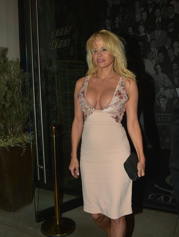 pamela-anderson-deep-cleavage-at-catch-restaurant-01