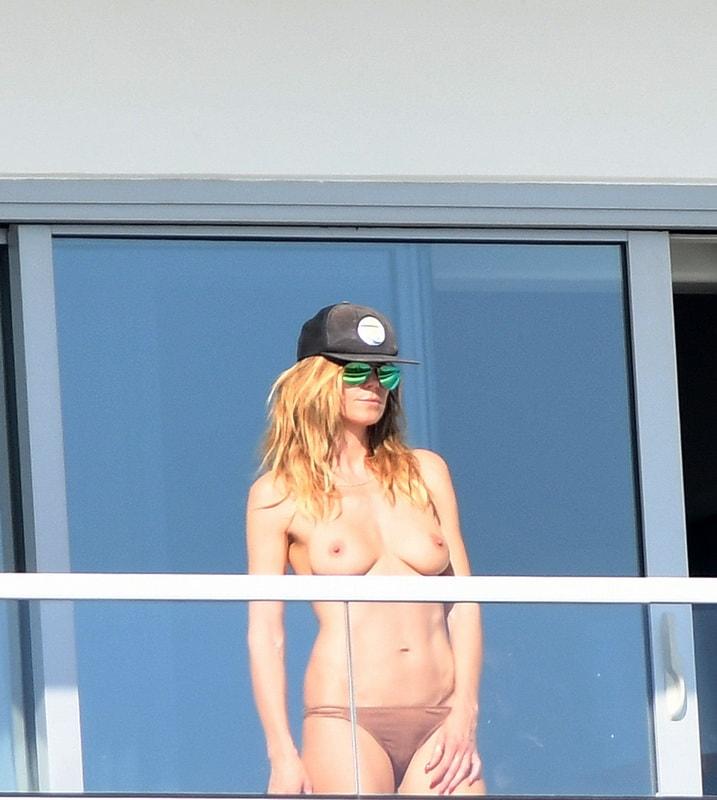 Heidi Klum - celebrity-slips.com