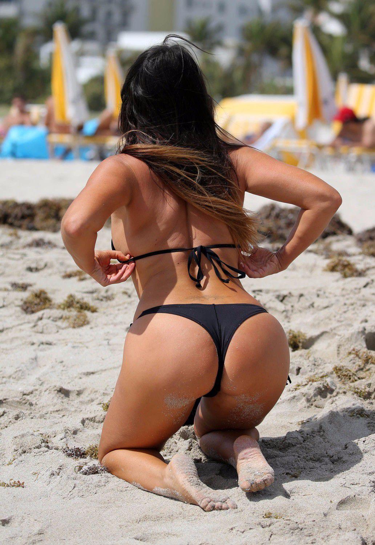 Black thong bikini pics