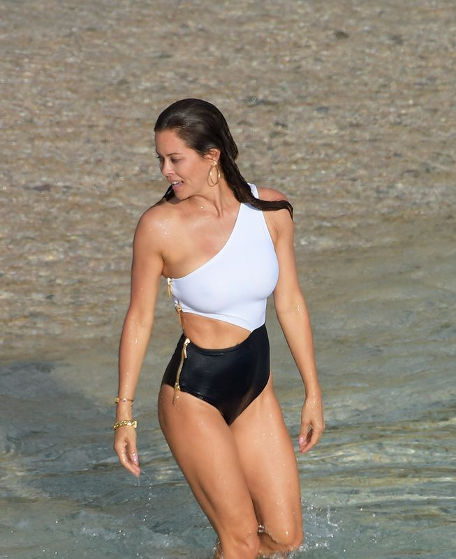 nipples Brooke burke