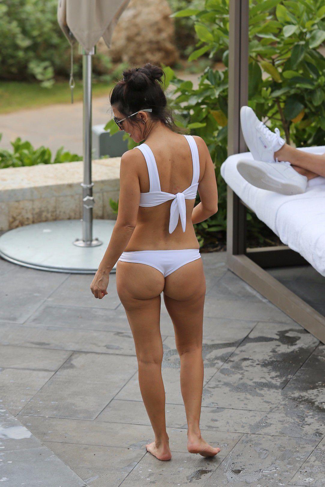 Wearing Thong Bikini