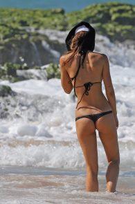 Alexis Ren Hot In Thon... Zoe Saldana