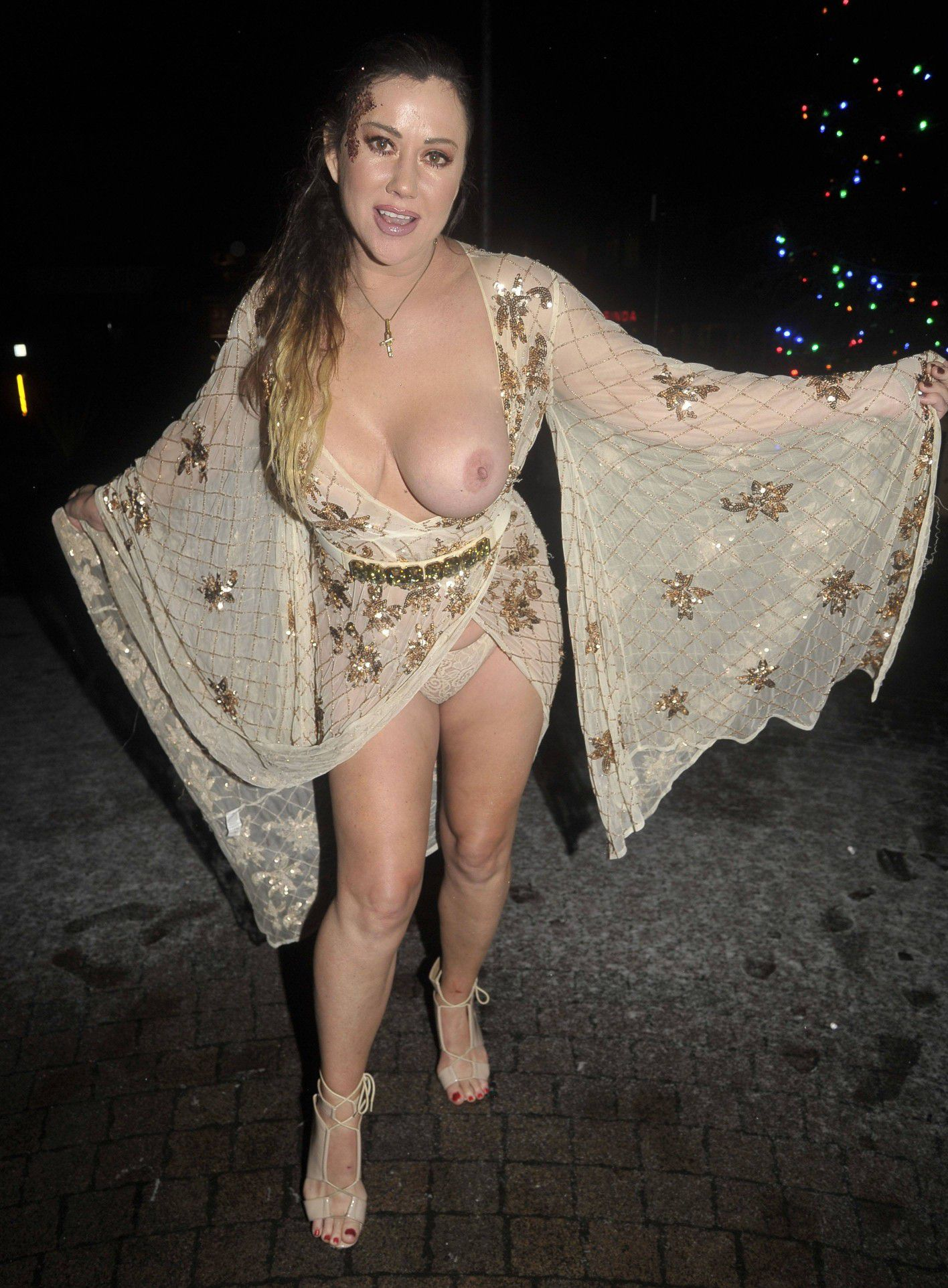 Big Brother Star Lisa Appleton Boob Slip And