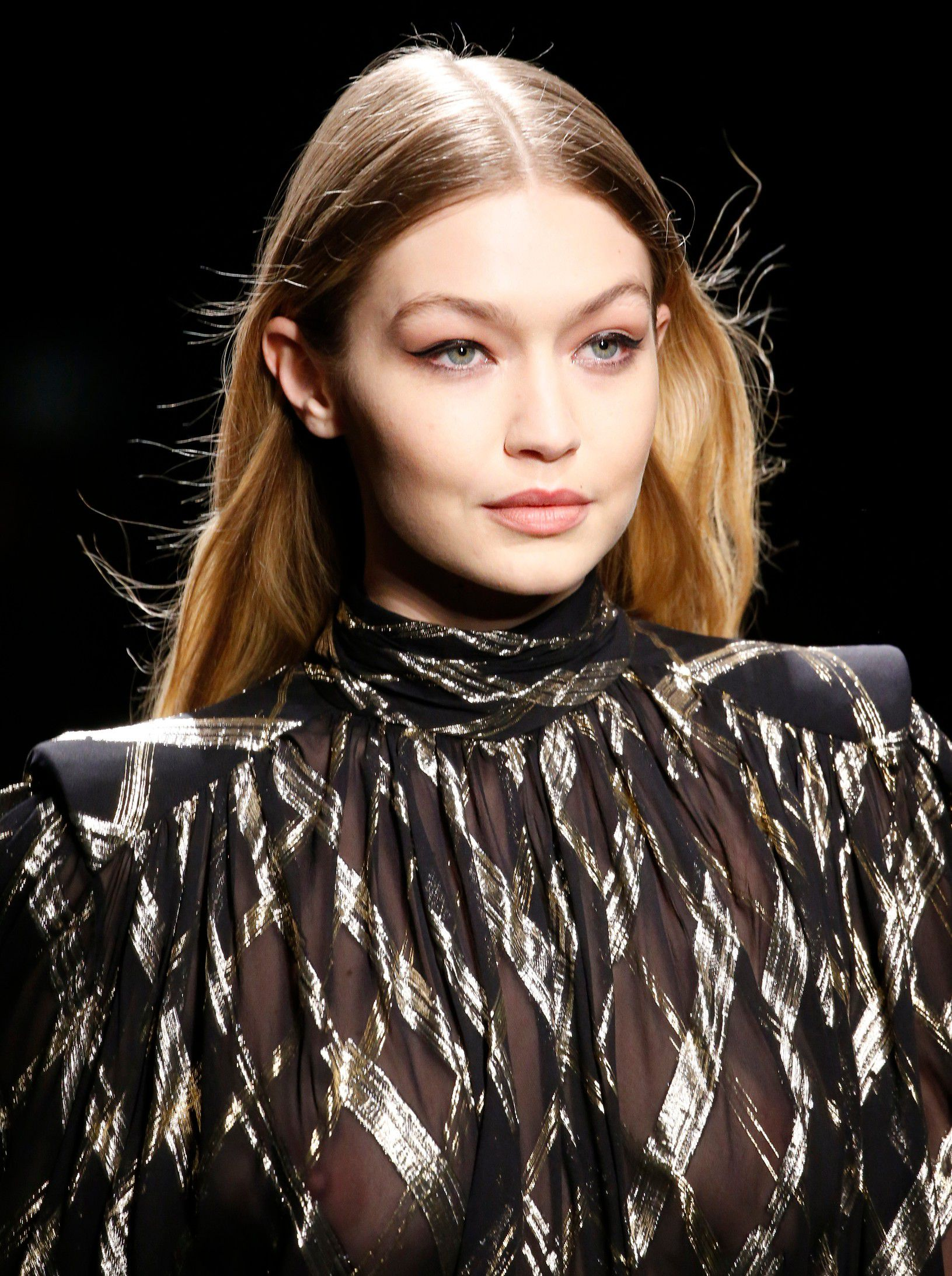 gigi-hadid-braless-see-thru-dress-at-milan-fashion-show-3760