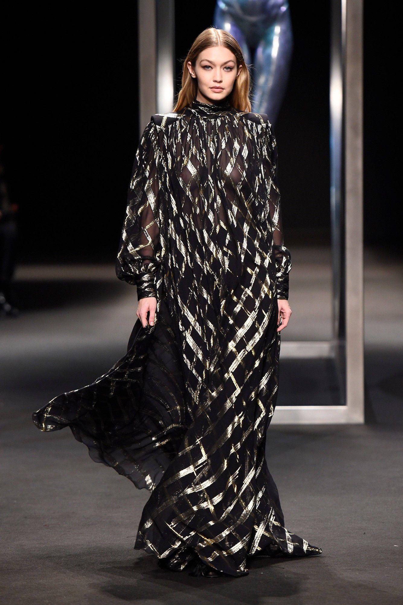 gigi-hadid-braless-see-thru-dress-at-milan-fashion-show-8674