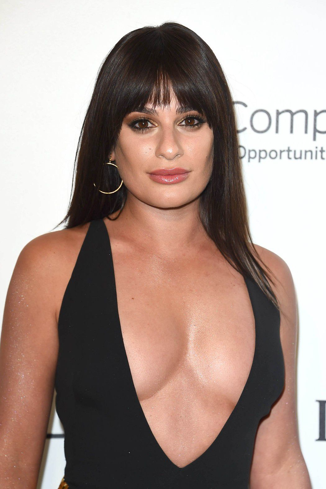 lea-michele-nip-slip-and-cleavage-at-elton-johns-aids-foundation-oscars-viewing-party-5691