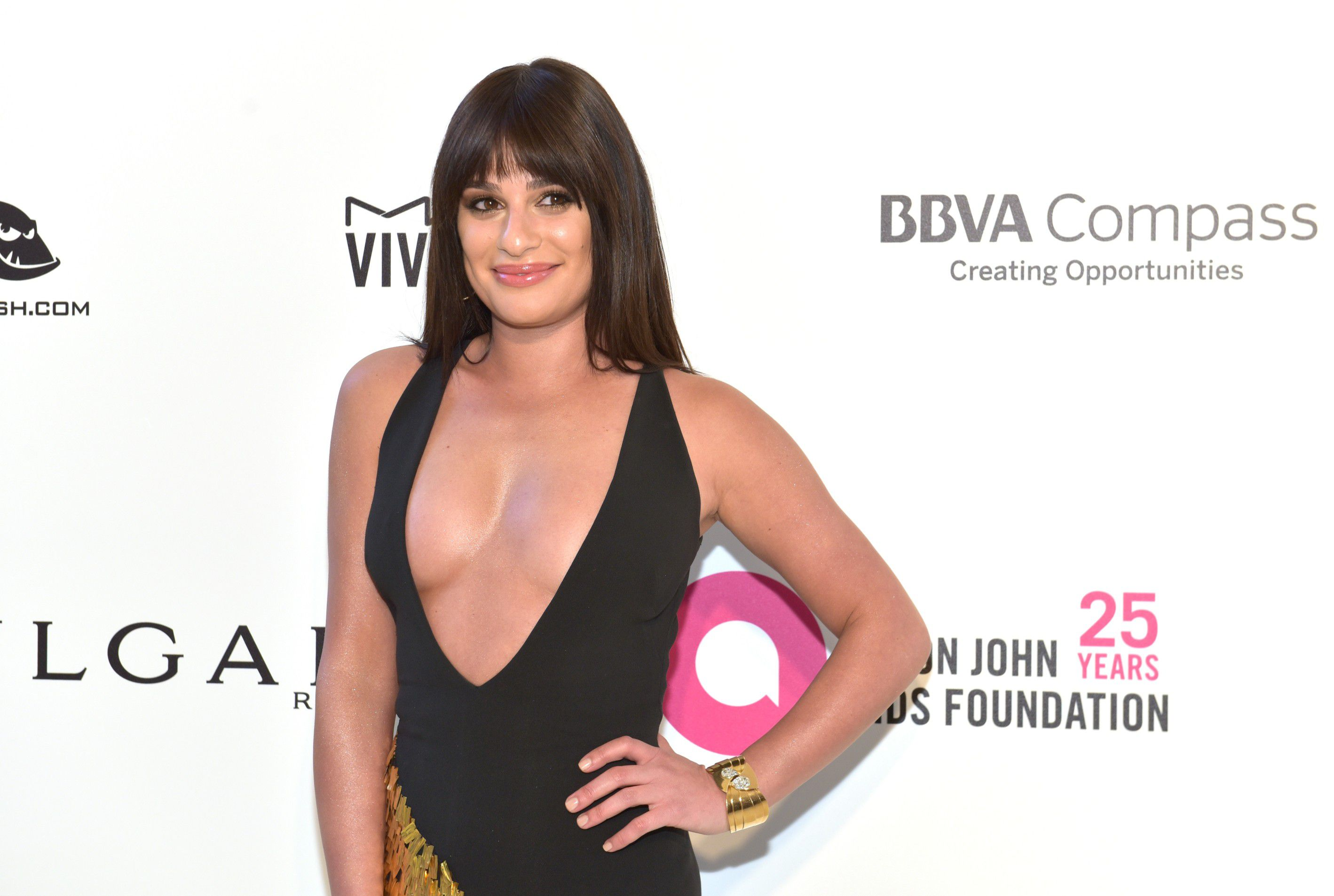 lea-michele-nip-slip-and-cleavage-at-elton-johns-aids-foundation-oscars-viewing-party-9042