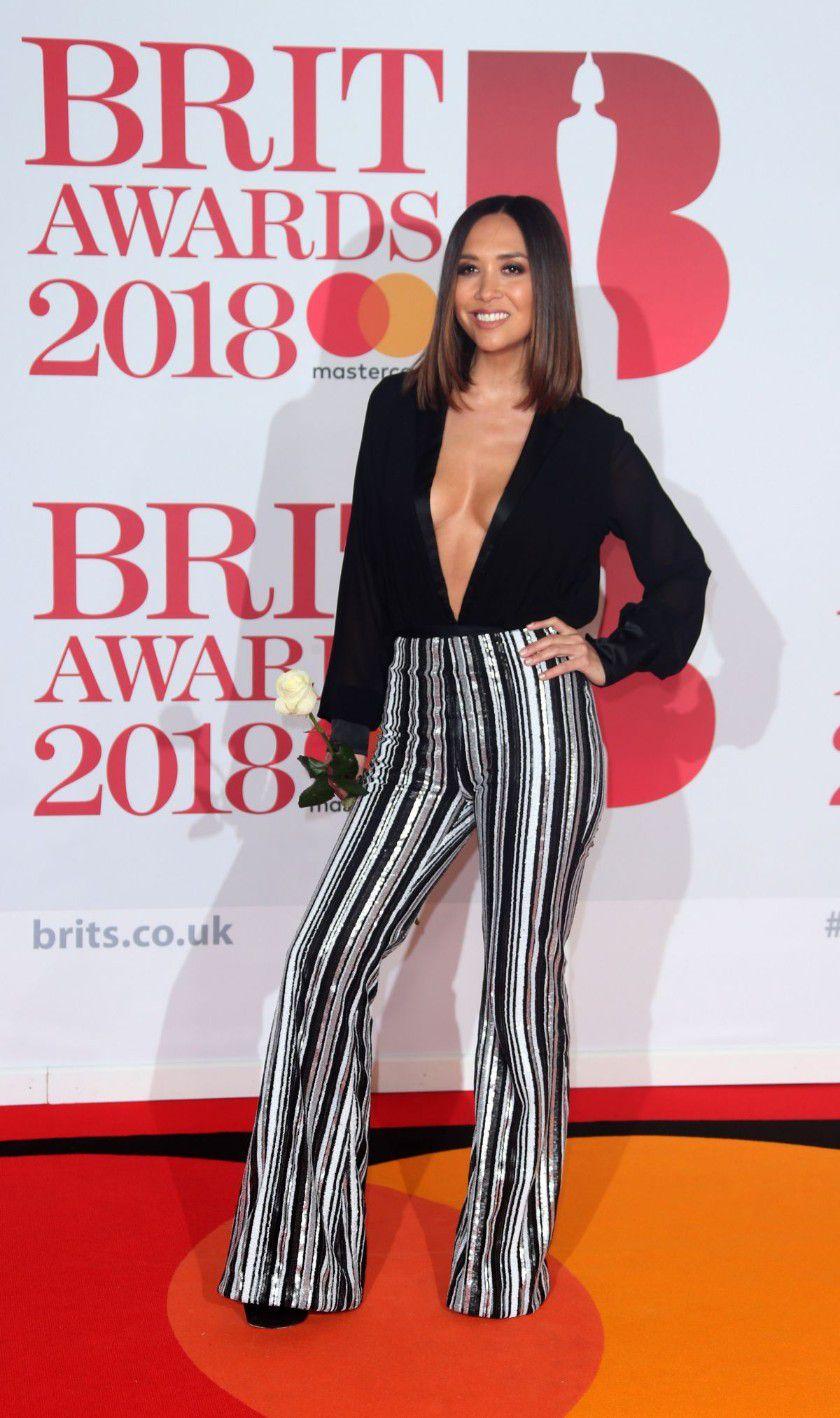 myleene-klass-deep-cleavage-at-2018-brit-awards-in-london-4402