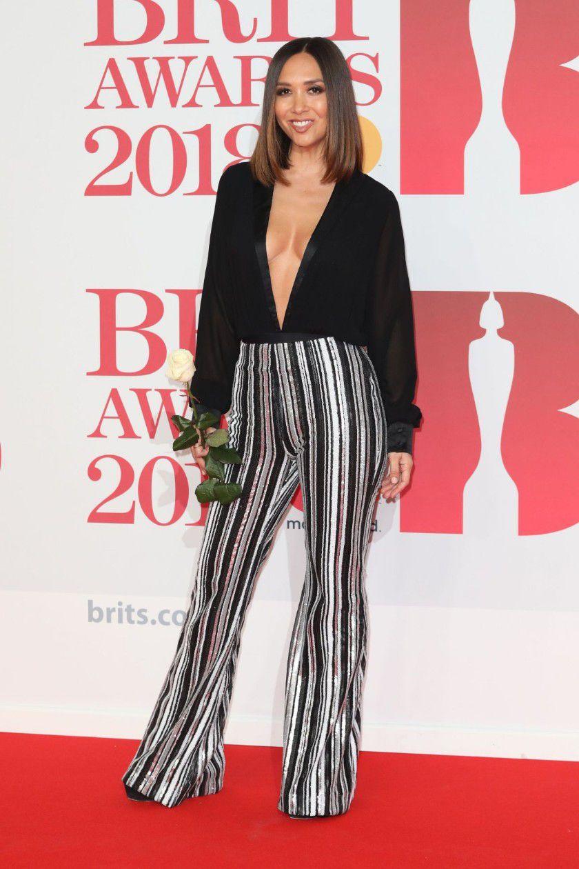myleene-klass-deep-cleavage-at-2018-brit-awards-in-london-5818