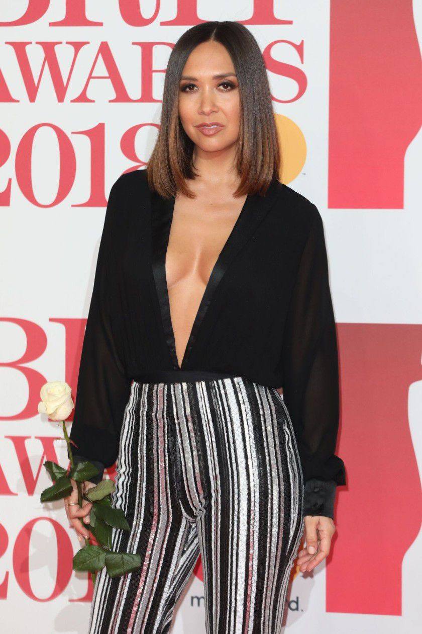 myleene-klass-deep-cleavage-at-2018-brit-awards-in-london-8863