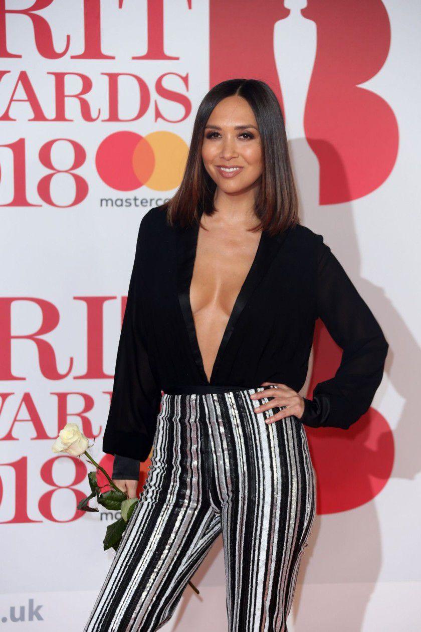 myleene-klass-deep-cleavage-at-2018-brit-awards-in-london-9815