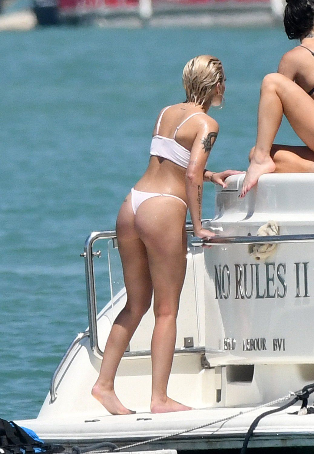 halsey-wearing-a-white-thong-bikini-on-a-yacht-in-miami-6763