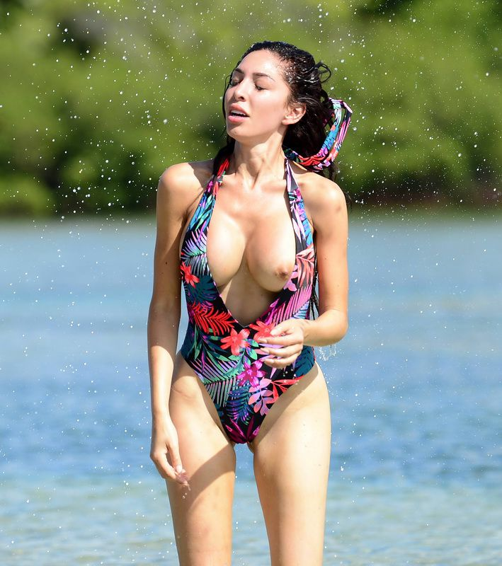 Boobs falling out of swimsuits